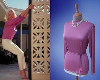 Marilyn Monroe...Pucci blouse.