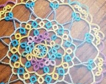 Our tatting lace story - Korean tatting lace works book by tatting lace authors