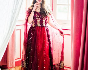 """Unique creation """"SURYA"""" dress"""