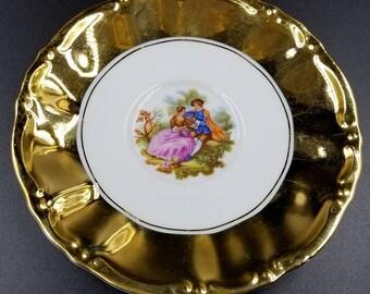 Frogonard Courting STW Bavaria Saucer Plate