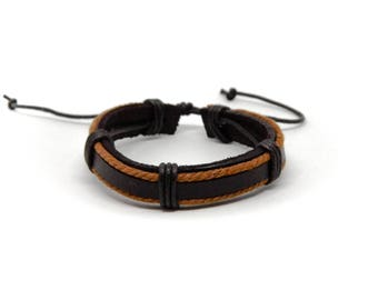 Real Leather Bracelet Barcelona