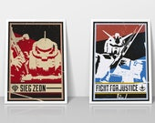 Mobile Suit Gundam Poster...
