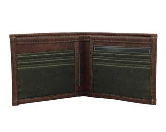 Cork & Wax Cotton Wallet