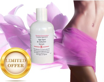 8 oz Face and Body Serum against Age Spot, Cellulitis, Spider Veins, Limited Edition