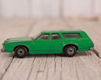 Matchbox car Cougar Villager, Cougar Villager Matchbox car 1:60, Collectible car Matchbox, Vintage Matchbox car, Bulgaria Matchbox 1978