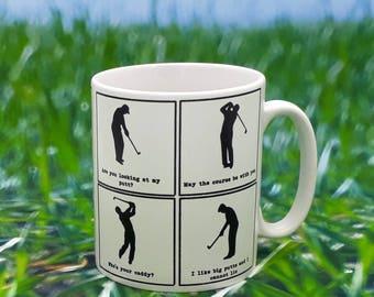 Golfers Mug - Golf puns