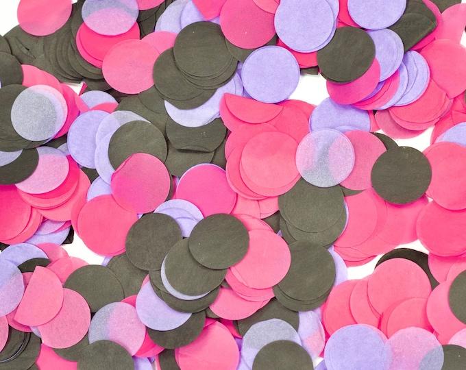 Bachelorette Bash Confetti, Black Pink Confetti, Shred, Table Decor, Confetti Balloon, Bachelorette, Girls Night, Pink Black Decor, Birthday
