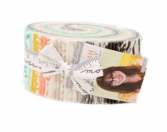 Savannah Jelly Roll by Gingiber for Moda Fabrics