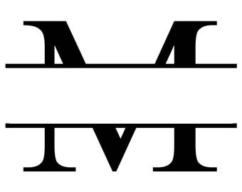 Monogram Decal Personalized for Any Letter Can Add Name