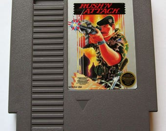 Vintage Nintendo Game NES Rush'n Attack