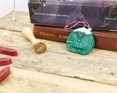 Porticine di natale Bilbo Baggins, ornamento, pallina di Natale. Regalo per lei, regalo natale, regalo amica, addobbo natalizio