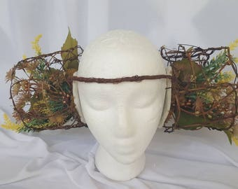 Alien Forest Queen Tribal Floral Headpiece Jungle Crown