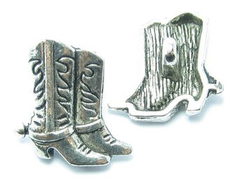 PASSING 17x15mm METAL 1 COWBOY boots button