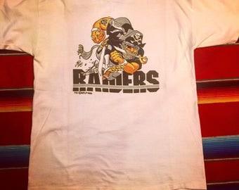 Vintage Raiders Jack Davis Shirt 1988 Large