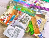 Mixed Media Art Journal Creative Collage Pack