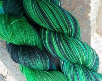 Gemstones Sock Yarn, Emerald