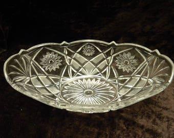 Fruit Salad Bowl / Fruit Bowl Crystal Glass