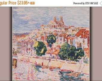 40% OFF SALE Poster, Many Sizes Available; George Luks Verdun, France