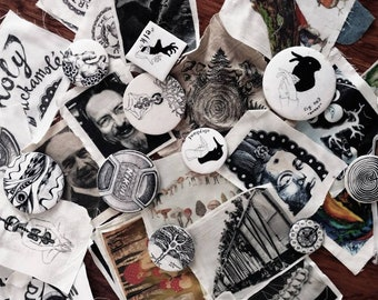 Patches & Pins: A Mystery Grab Bag!