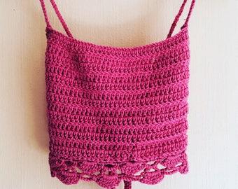crochet bra