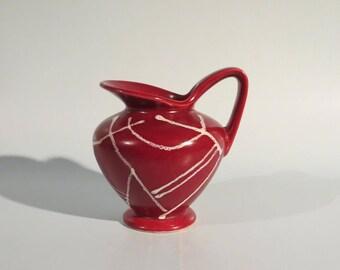 1950's West German ceramic vase DÜMLER & BREIDEN - form 1253-11 - WGP #076