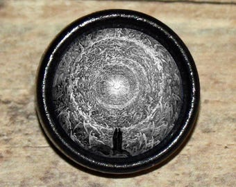 Dore SEVEN CIRCLES of HELL Dantes Inferno Pendant or Brooch or Ring or Earrings or Tie Tack or Cuff Links