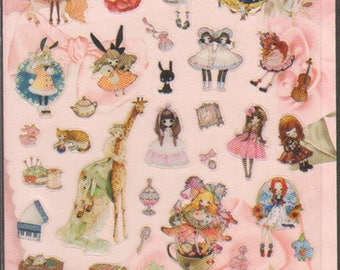 Kawaii! Elegant Gothic Lolita Stickers