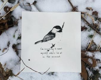 Self-Care Chickadee
