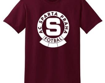 AC Sparta Praha Prague T Shirt Camiseta Železná Sparta Czech Republic Iron Sparta Fanatic Soccer
