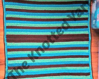 Summer Stripes Baby Blanket