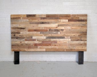 reclaimed wood headboard or bed custom reclaimed king queen full twin cali set