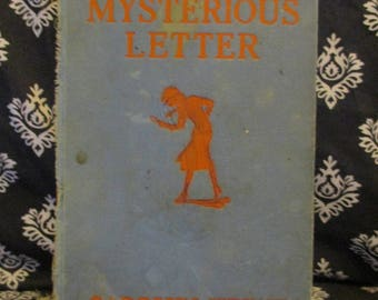 Nancy's Mysterious Letter by Carolyn Keene 1932 First Edition
