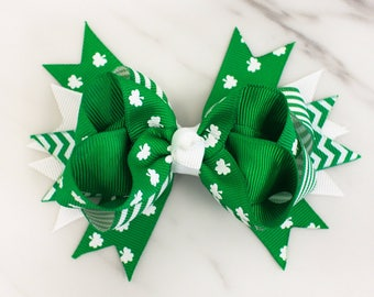 St. Patrick's Day Baby - Toddler Bow - Holiday bows