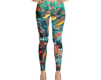 Guam Anthias Reef Leggings