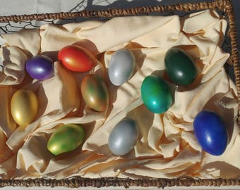 Full set of Dungeons and Dragons inspired Dragon Eggs