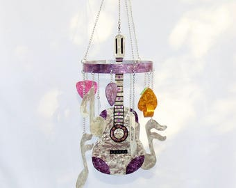 6 Note Guitar Chime, Purple