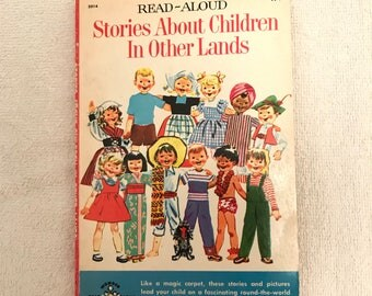 Vintage Read-Aloud Stories About Children In Other Lands Book