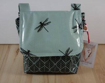 Handlebar bag waterproof coated cotton