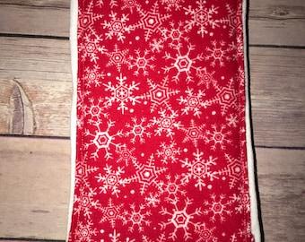 Holiday/Christmas Burp Cloth