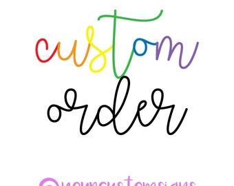 Custom Sign for Sonya