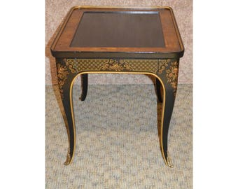 Vintage Drexel Asian Style Accent Table w/Drawer