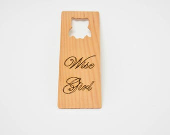 Wooden Book Mark - Custom Engraving - Student gift - readers gift - book lover gift - Special book gift