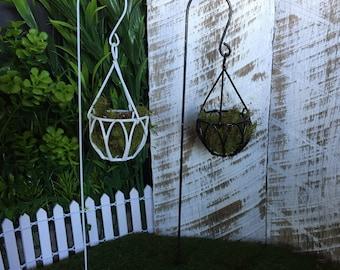 Fairy Garden Mini Hanging Basket
