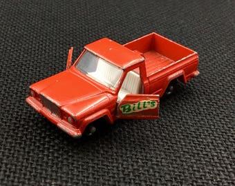 Matchbox Lesney, Matchbox Jeep,  No.71, Jeep Gladiator, Vintage Matchbox Pick Up, Vintage Toy Car, Made in England, Vintage Lesney