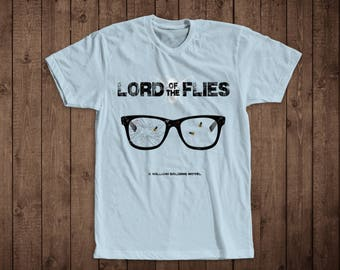 T-Shirt- Classic Novels Original Design Inspired by Lord of the Flies