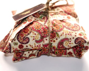 Organic LAVENDER & BUCKWHEAT Heat Pack with STRAPS