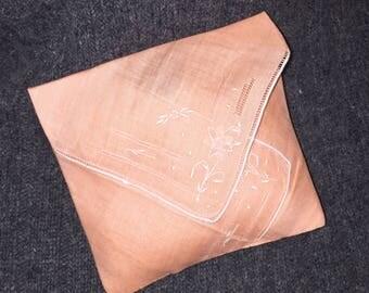 Handmade Lavender Sachet Made from An Antique Handjerchief