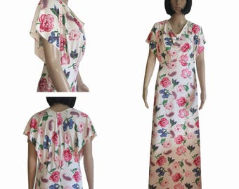 """Long dress with patterns - """"Bohemia"""" - T36 until T40"""