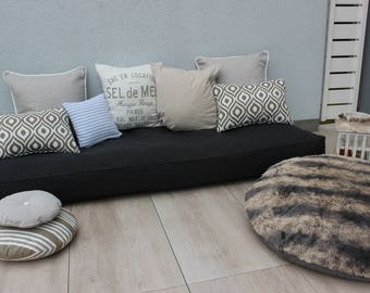 Pallets Edition - lounge pad, pillows and cushions for pallets and garden furniture to measure