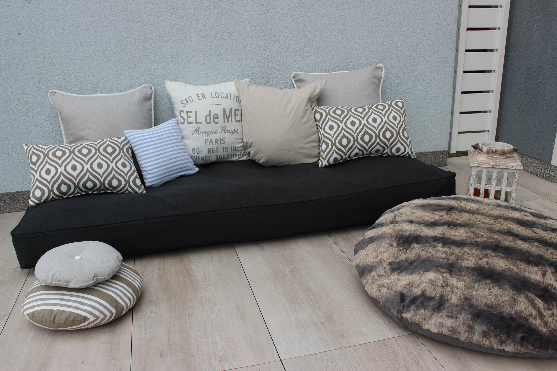 paletten auflage lounge auflage kissen und polster f r. Black Bedroom Furniture Sets. Home Design Ideas
